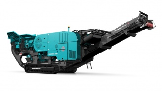 Powerscreen mobile Brechanlage Premiertrak-300